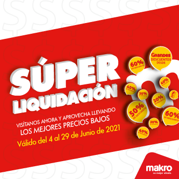 Liquidación Makro